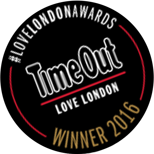 Time Out Love London Award Winner 2016
